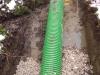 Uložení drenážního potrubí PP-MEGA Drain SN12 - odvodnění pole