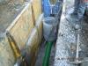 Pokládka drenážního potrubí PP-MEGA Drain SN12