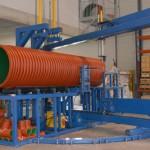 přesné řezání potrubí DN1000