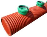 Navařené odbočky na plastové potrubí